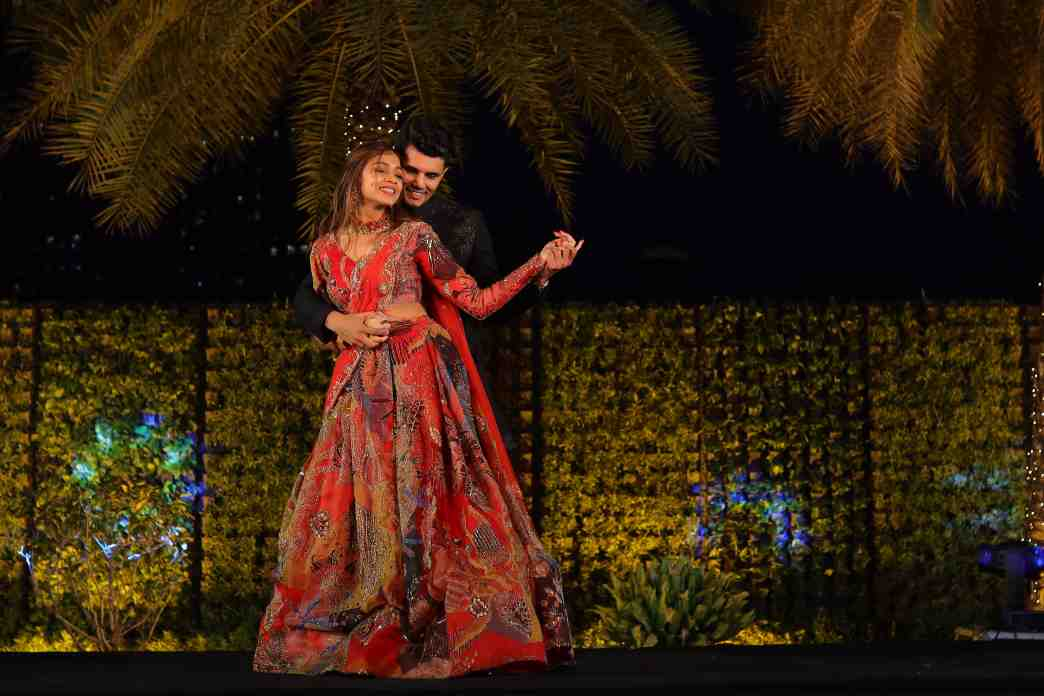 couple dance | sangeet look