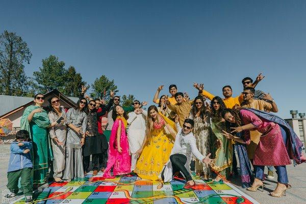 wedding games | sangeet games | Indian wedding games | 2021 weddings | wedding trends | bridal trends