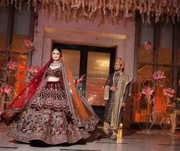 bridal twirl | indian bride