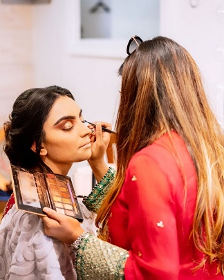 Makeup products for Indian brides