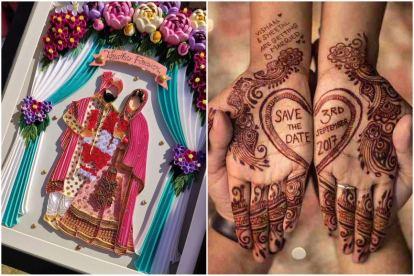 wedding trends   2021 weddings   intimate weddings   new save the date ideas