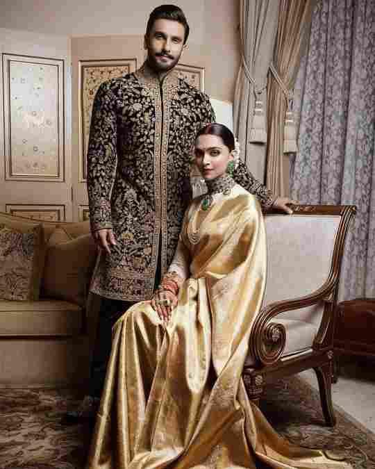 celebrity wedding | wedding saree | kanjivaram sarees
