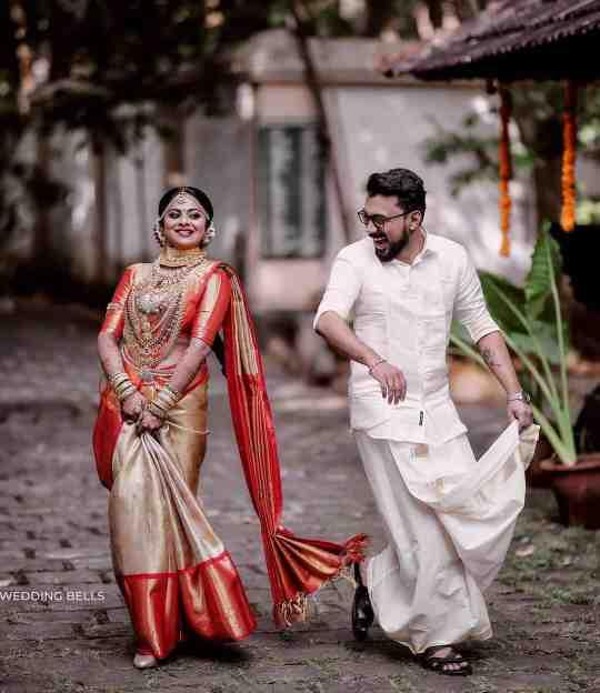 couple goals | wedding saree | kanjivaram sarees