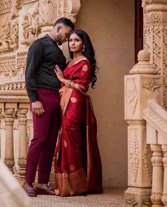 red saree | wedding saree | kanjivaram sarees