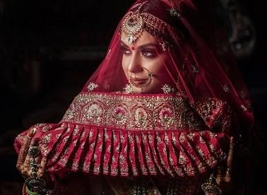 Indian bridal veil styles