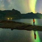senja, ersfjord Milky Way, Norway