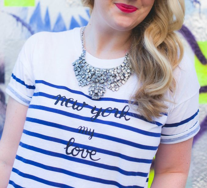 new york my love madewell tee I wit & whimsy