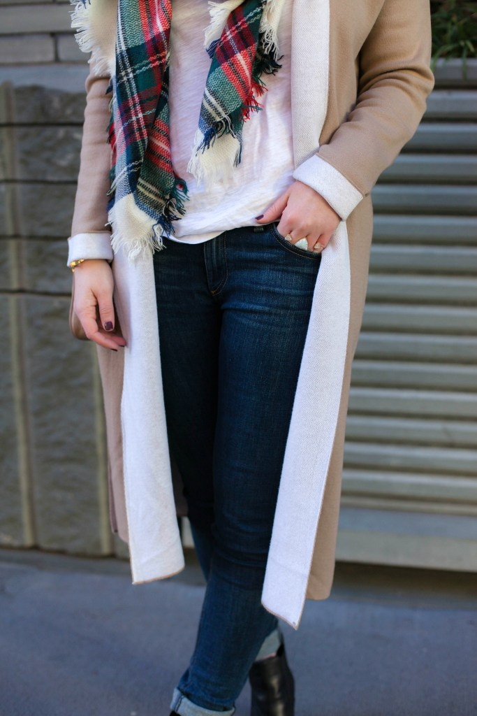 Styling a Duster Sweater