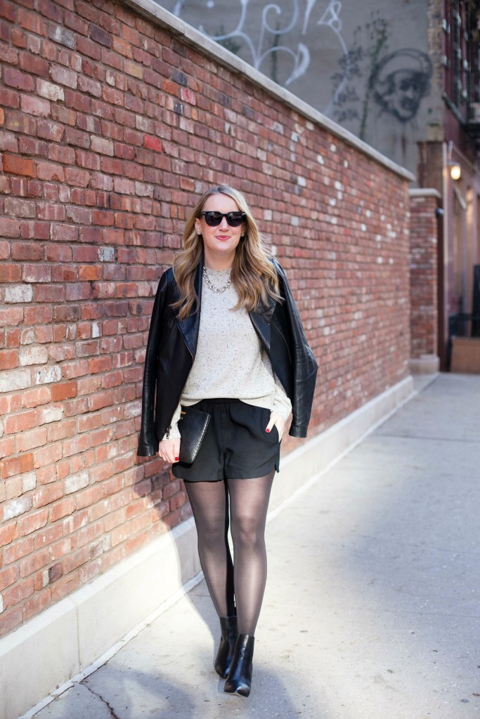 How to Style Silk Shorts in Winter I wit & whimsy