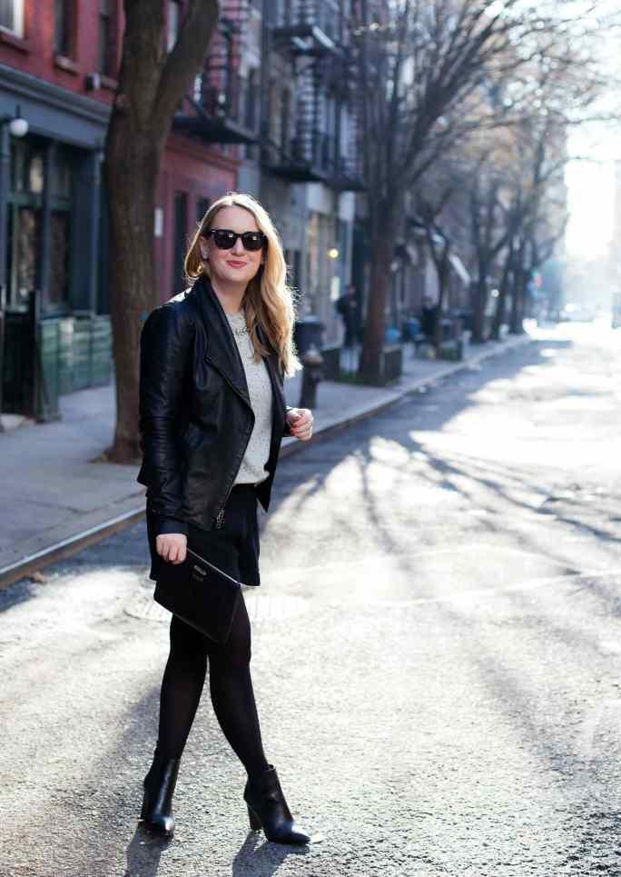 Leather Jacket Street Style