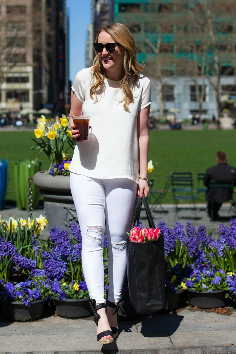 Easy Spring Outfit @meghandono