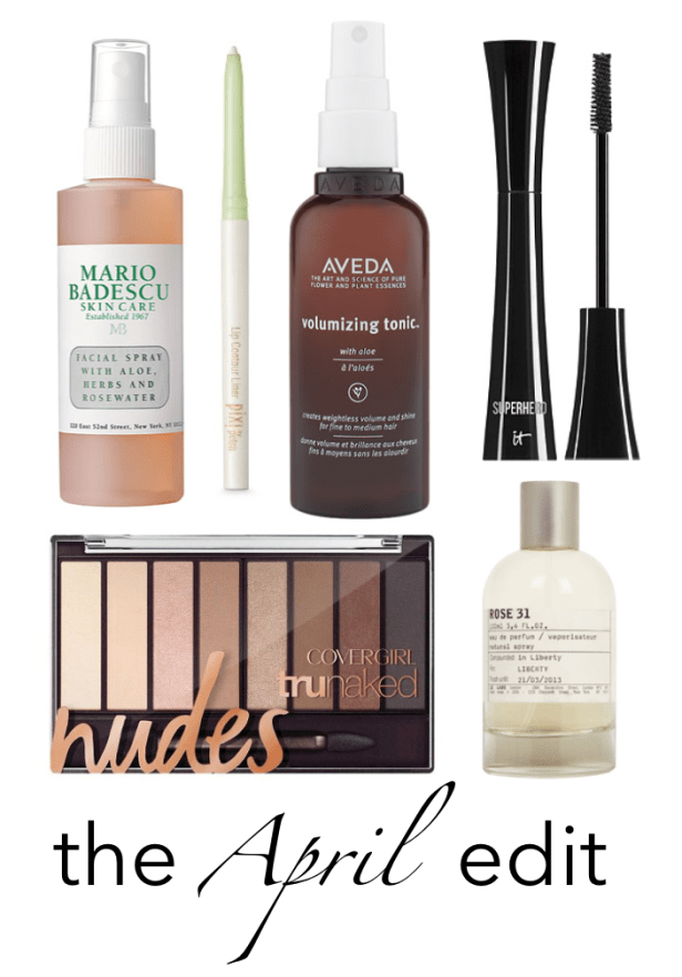 The April Beauty Edit I wit & whimsy