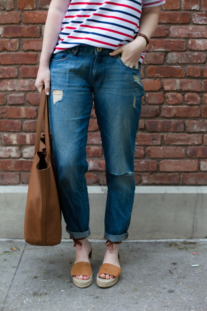 Boyfriend Jeans and Espadrilles