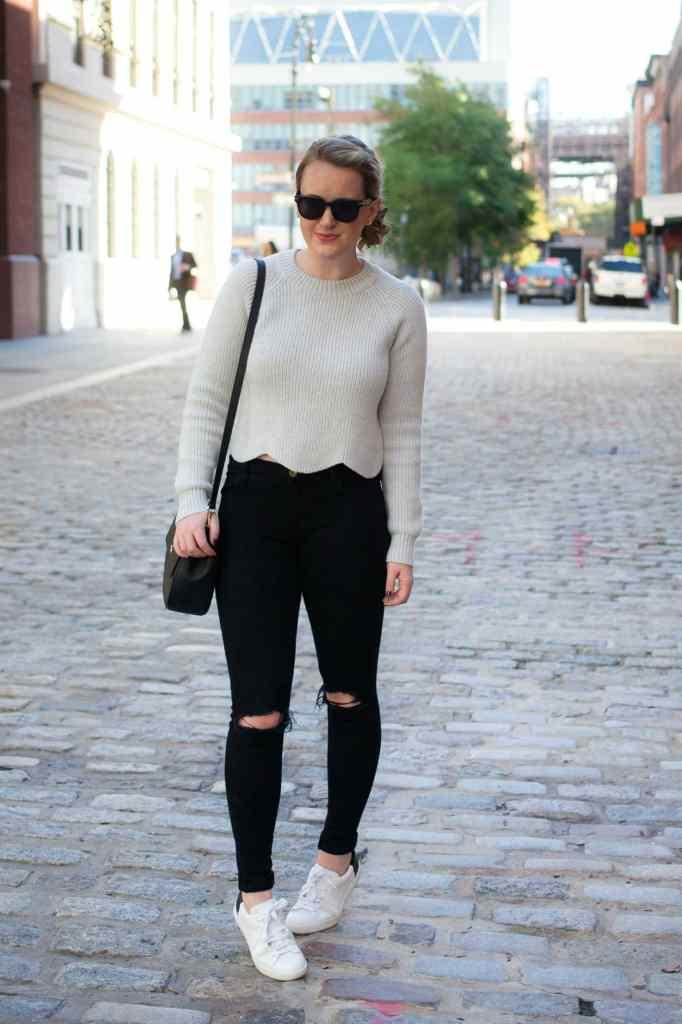 Scalloped Sweater I @meghandono I wit & whimsy