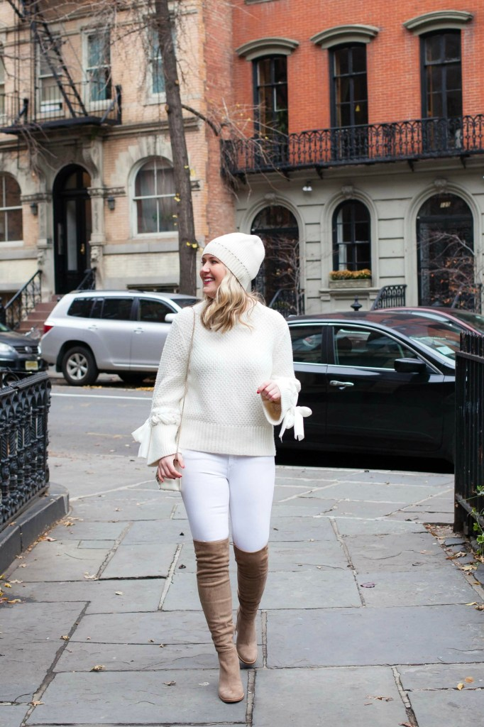 Winter Whites on blogger Meghan Donovan of wit & whimsy