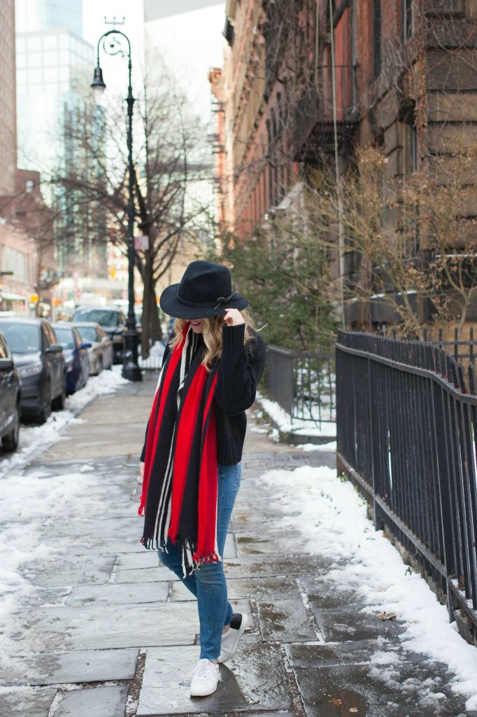 Styling Sneakers in Winter I wit & whimsy
