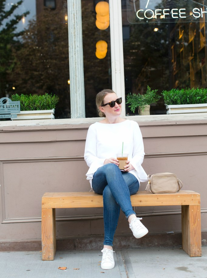 Meghan Donovan of wit & whimsy wears The White Company
