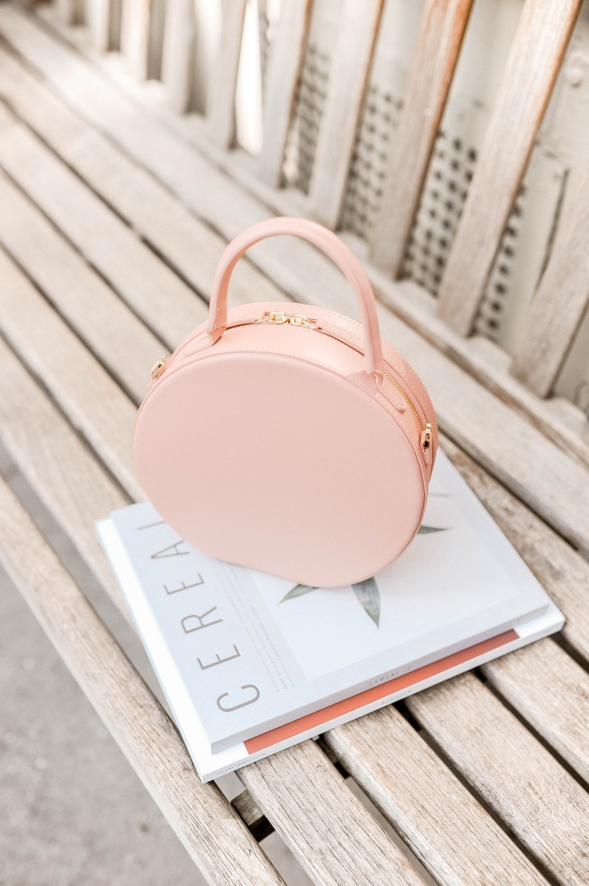 Mansur Gavriel Circle Bag - Pink