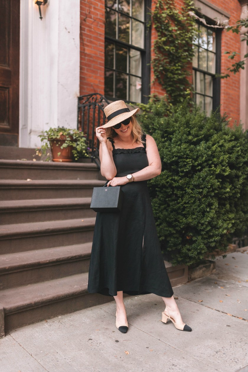 Linen Dress on Meghan Donovan of wit & whimsy
