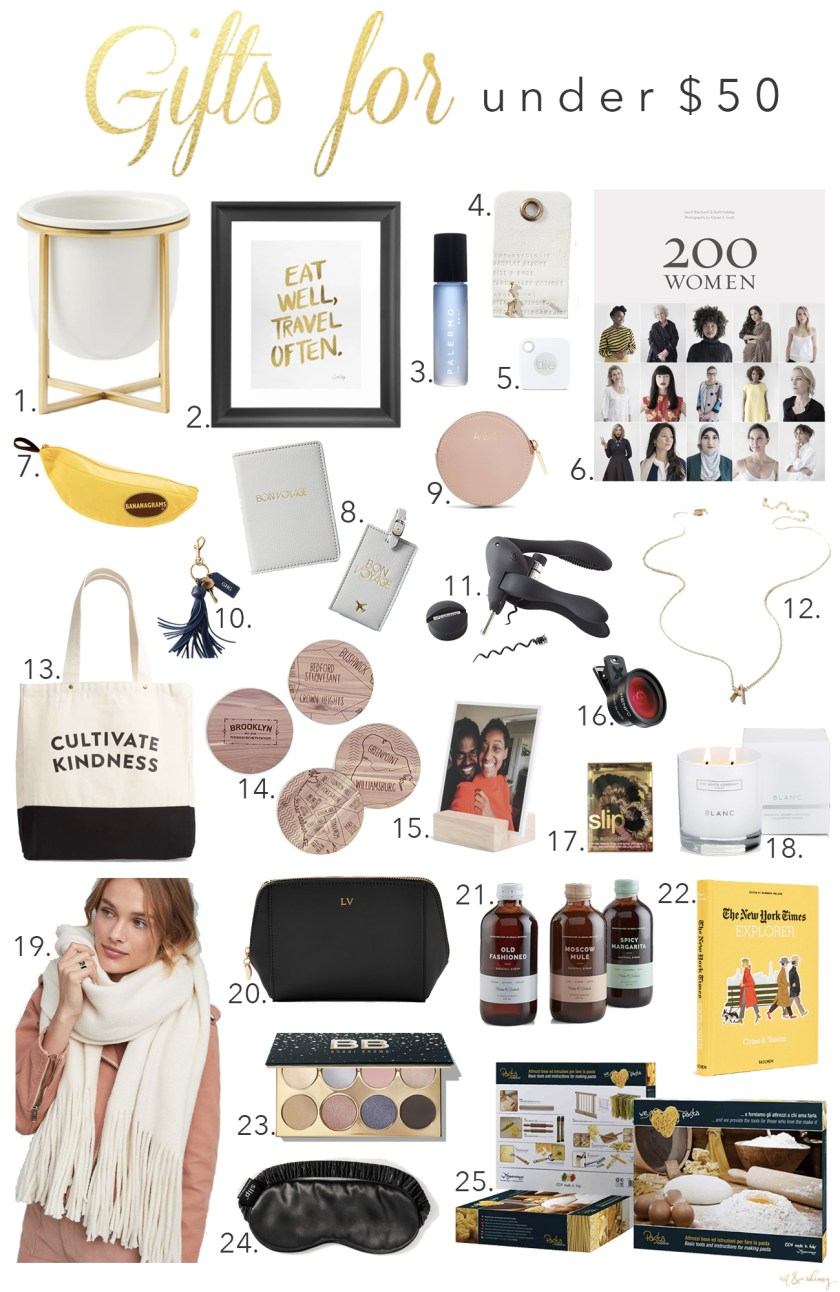 Great Gifts Under $50 I wit & whimsy