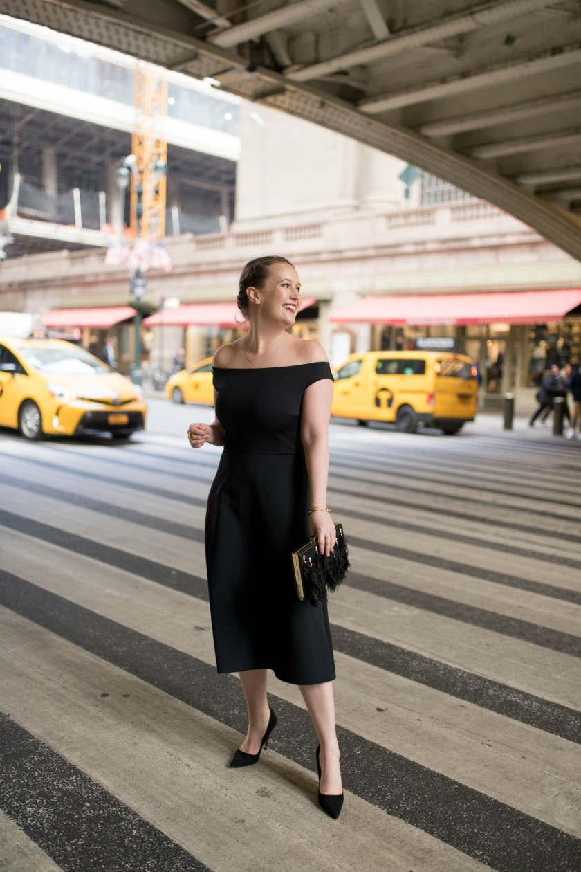 Little Black Dress at Grand Central Station I wit & whimsy