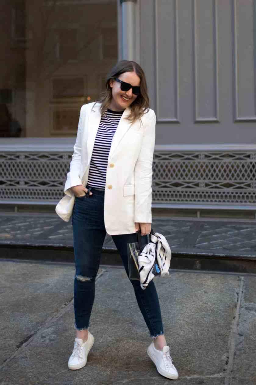 Linen Blazer I wit & whimsy