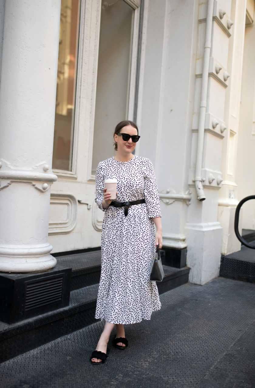 Meghan Donovan I Polka Dot Dress I wit & whimsy
