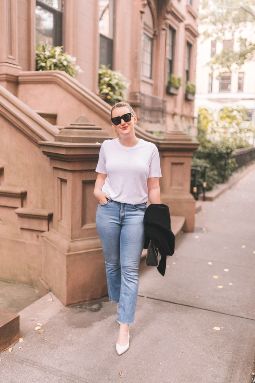 Jeans + White T-shirt I wit & whimsy