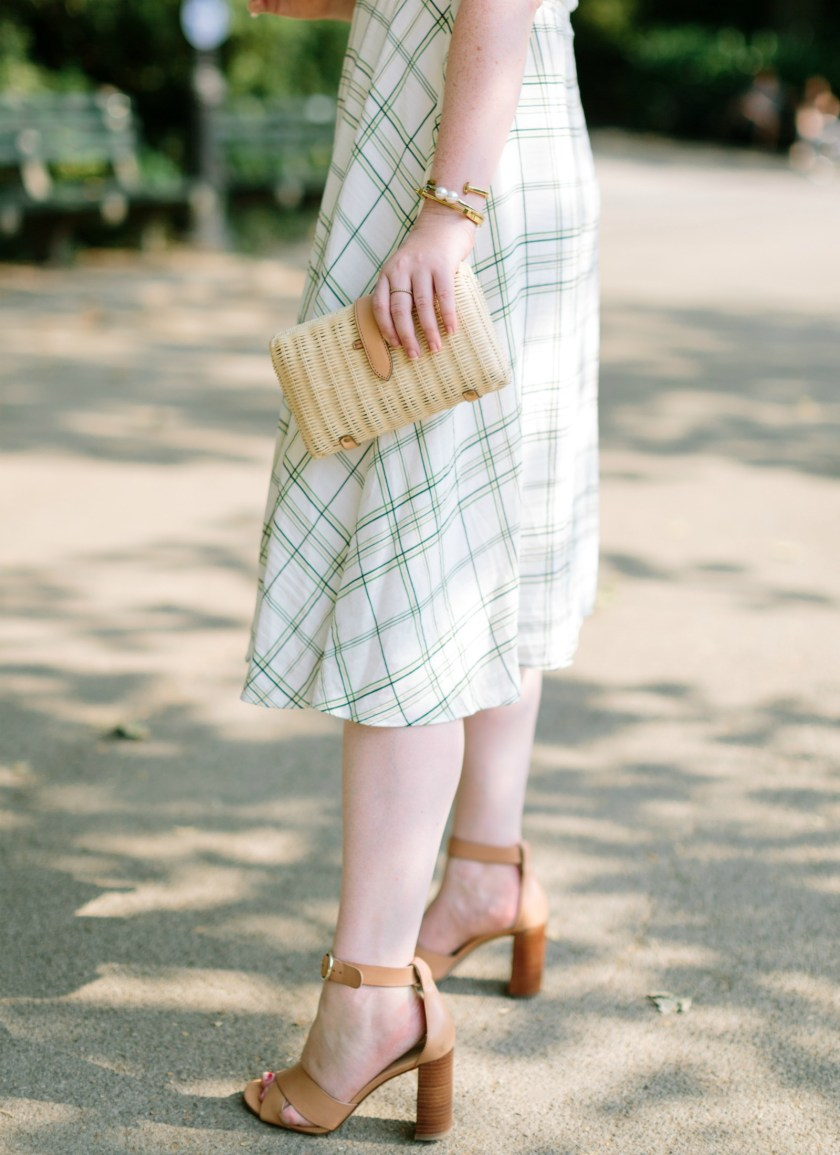 J.Crew Raffia Clutch I wit & whimsy