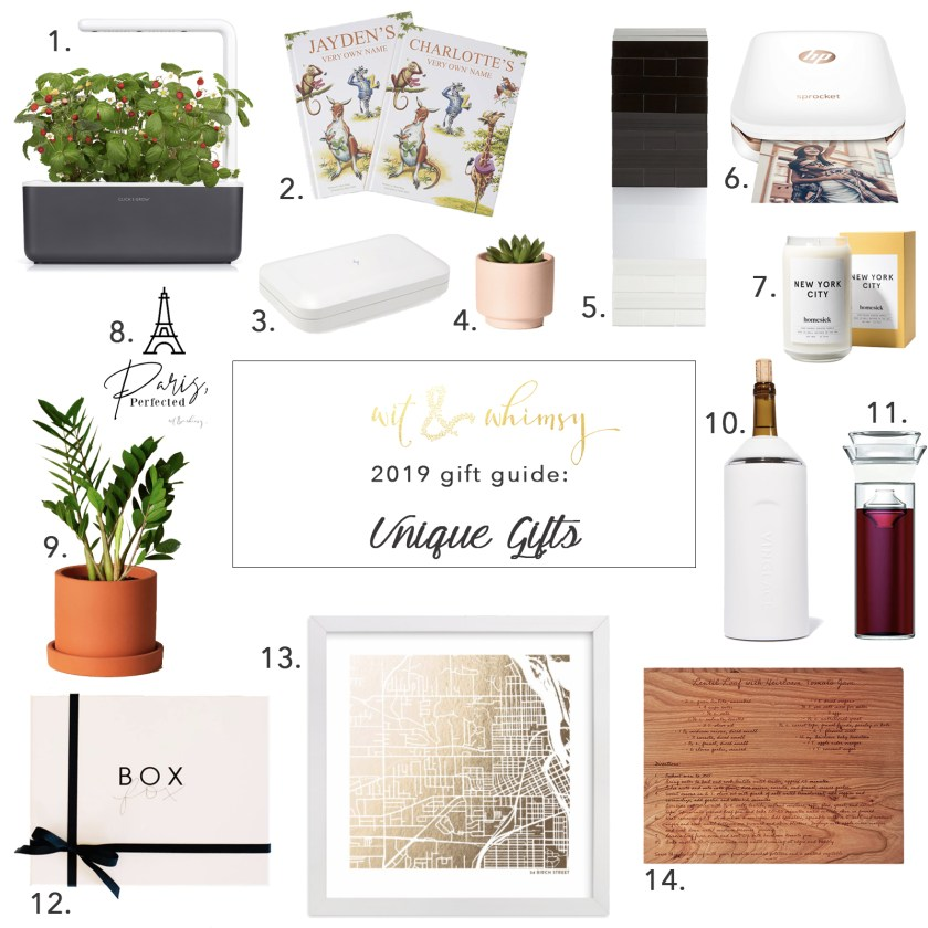 Affordable Unique Gifts I wit & whimsy