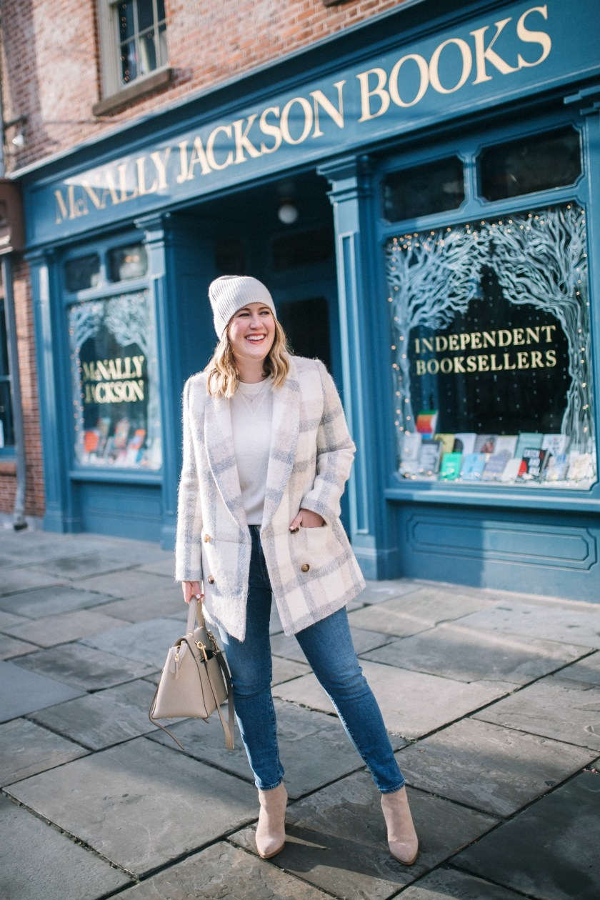 Easy Neutral Outfit for Winter I wit & whimsy