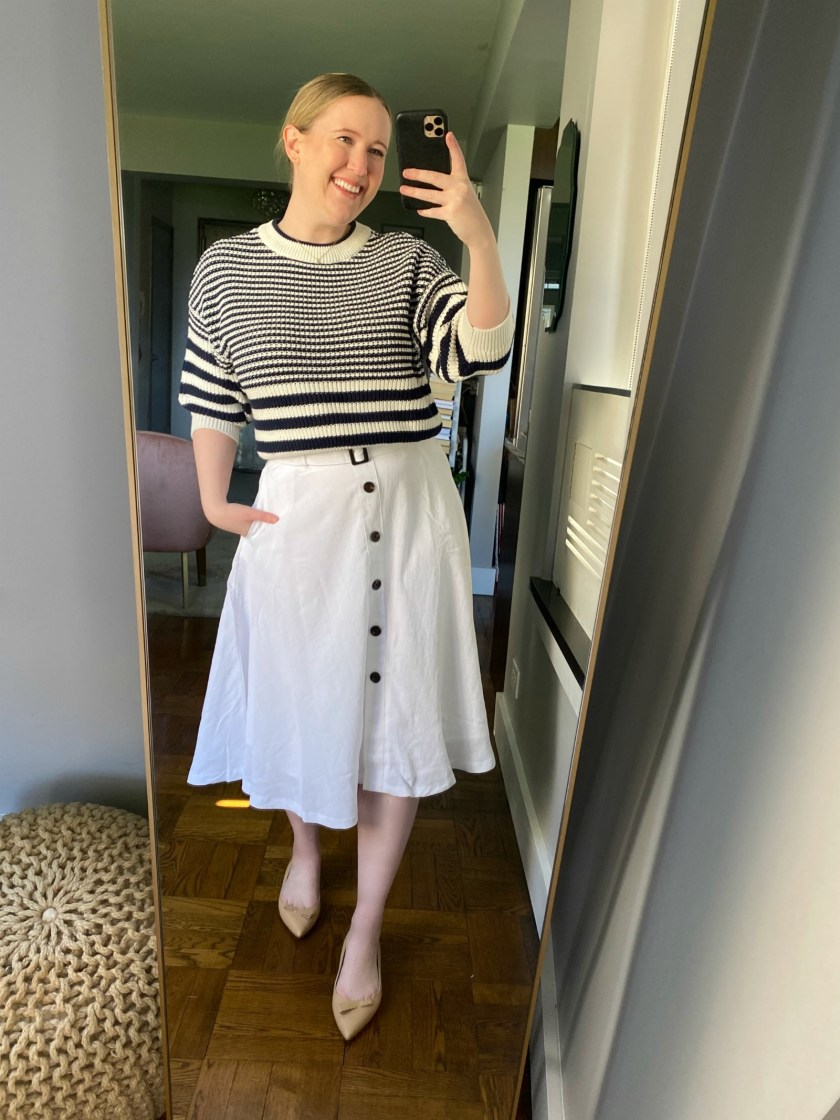 Ann Taylor Spring Try On I wit & whimsy