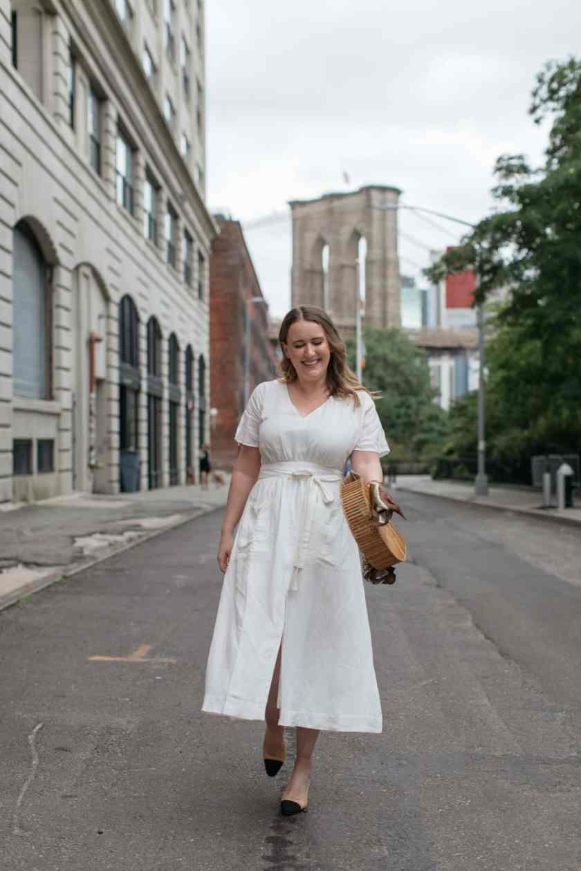 Summer Linen Dress I wit & whimsy