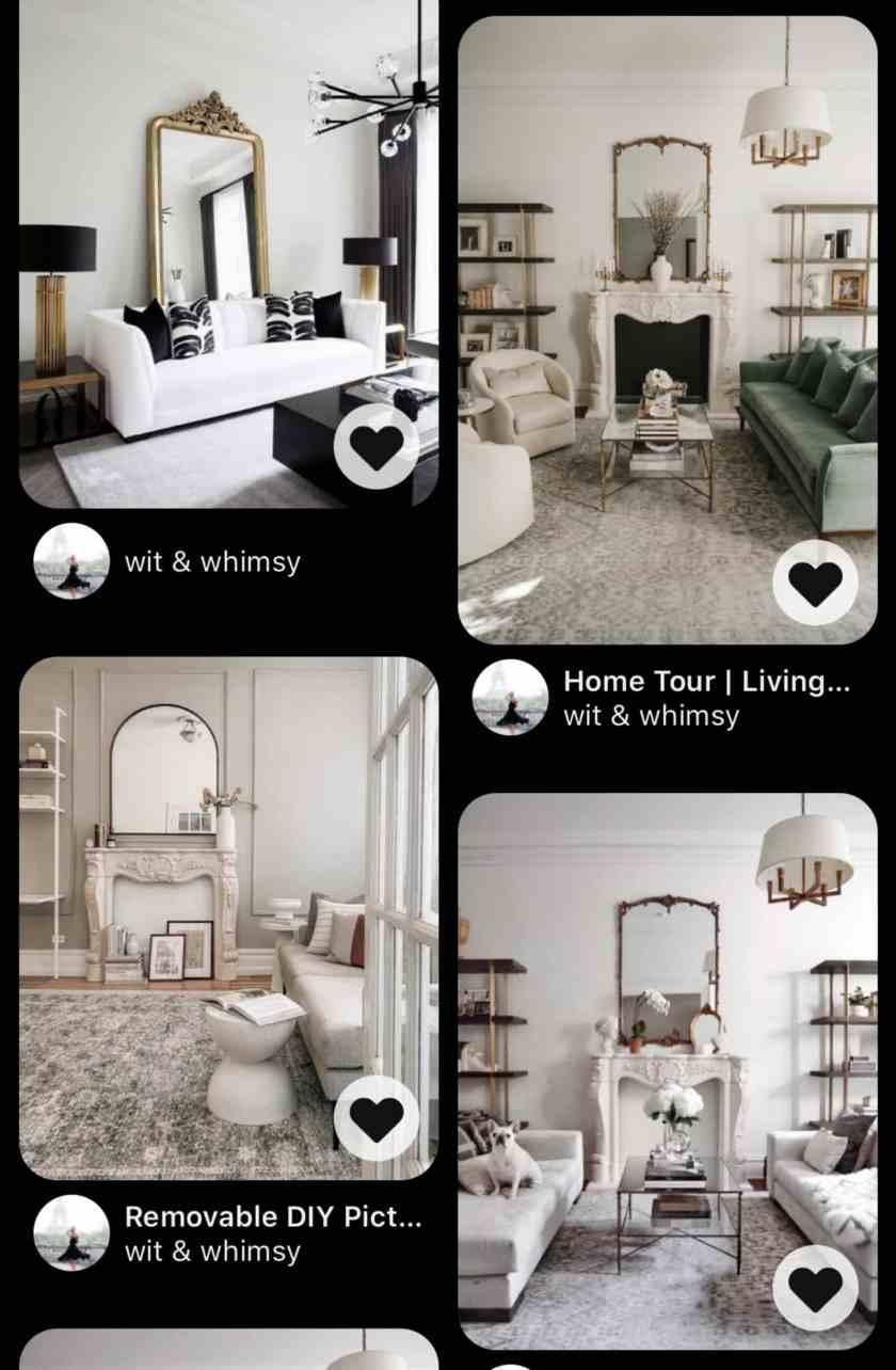 Parisian Apartment Design I wit & whimsy