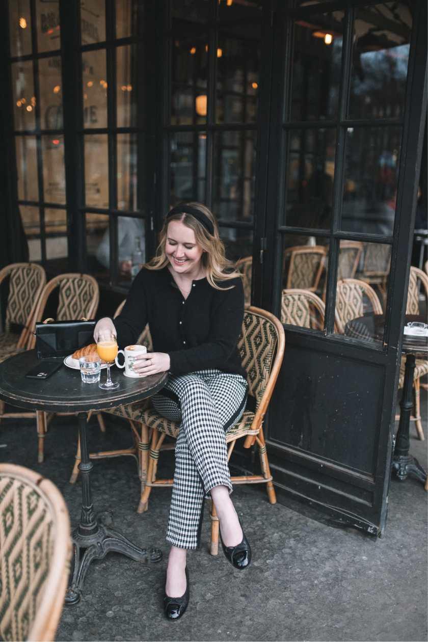 parisian style breakfast