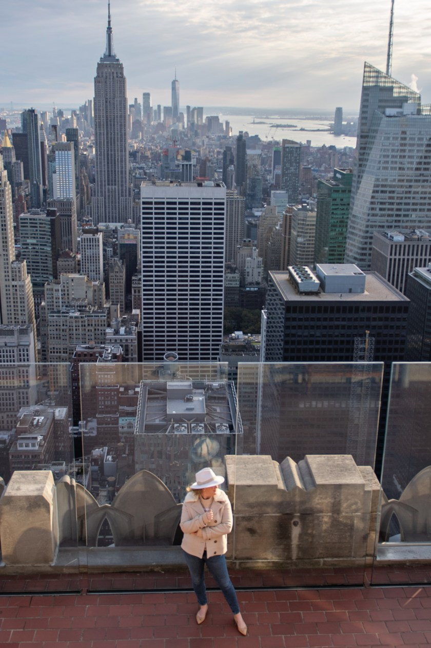 Top of the Rock I wit & whimsy
