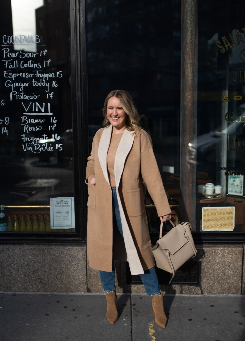 Classic Camel Coat I wit & whimsy