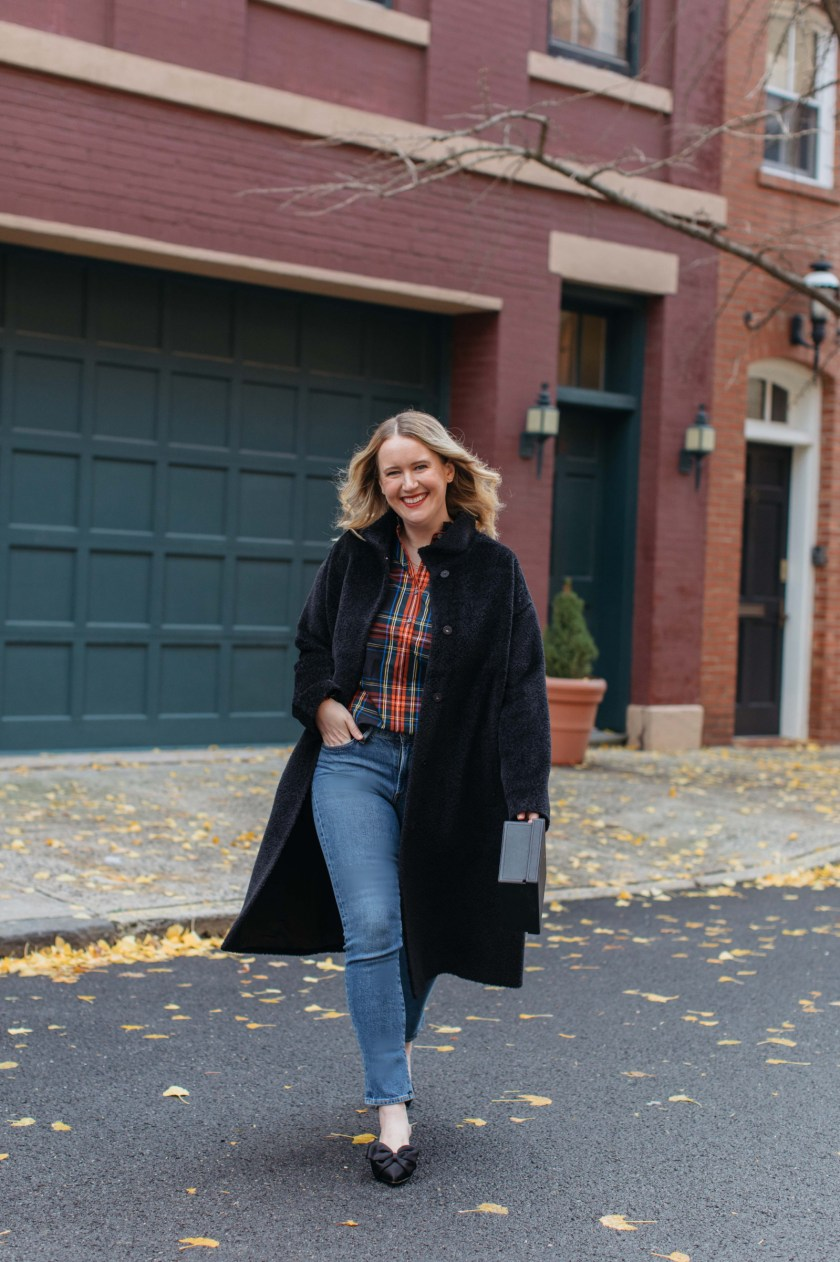 Plaid Holiday Outfit I wit & whimsy