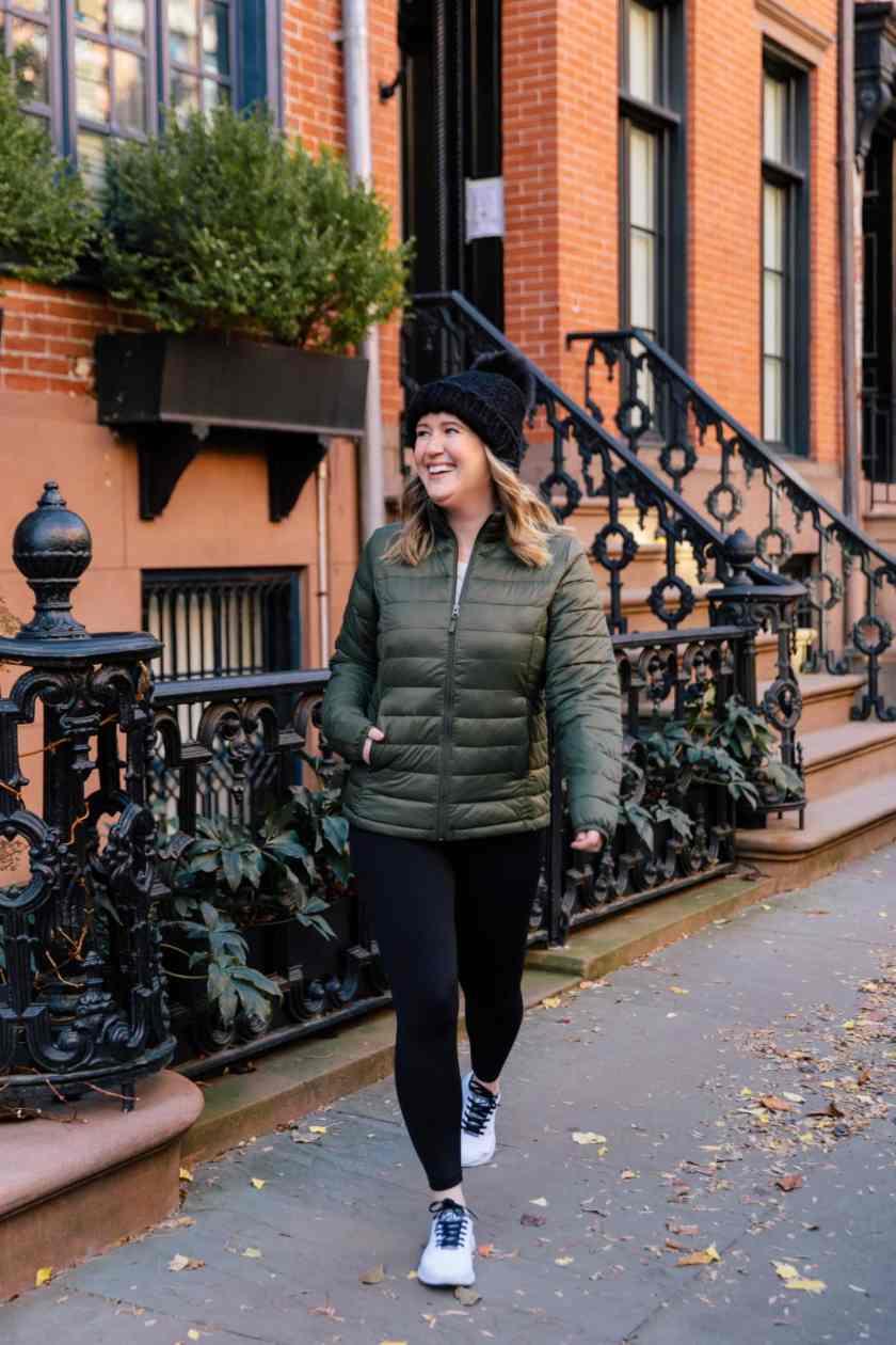 Athleisure Capsule Wardrobe for Winter