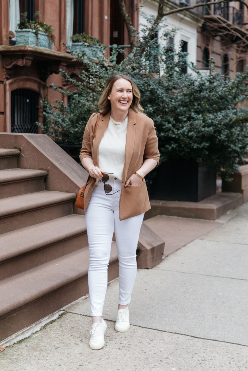 Styling a Blazer Casually for Spring