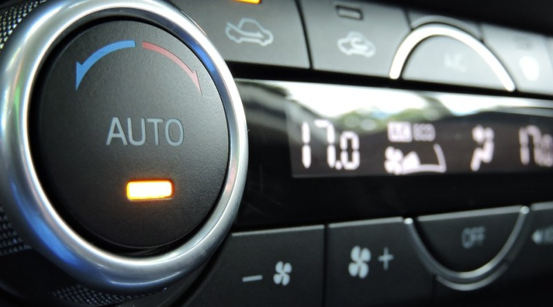klimatizace v autě