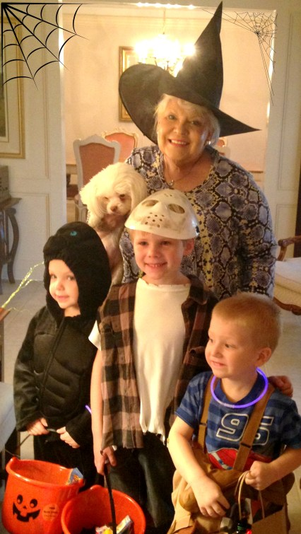 Grandma Glynda is so wonderful! We love her!