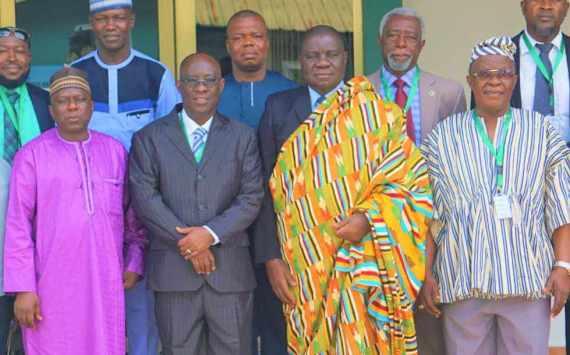 Nigeria Ambassador commends Wisconsin University College, Ghana