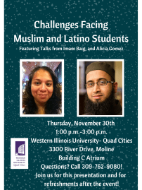 Challenges Facing Muslim and Latino Students Poster