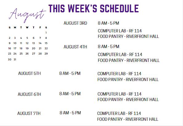 Aug 3-7