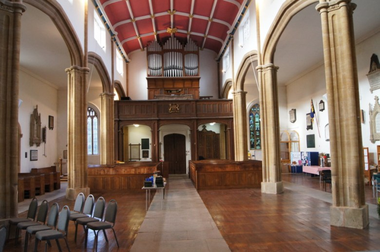 St. Andrews after the pews had been removed