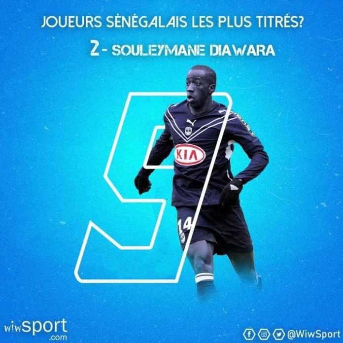 diawara Les joueurs sénégalais les plus titrés : Mamadou Niang et Souleymane Diawara caracolent en tête Gaindés