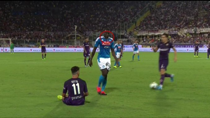 Napoli : Pourquoi seul Kalidou Koulibaly porte un badge en or sur son maillot