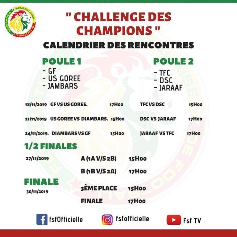 Challenge des Champions : Un tournoi à six équipes pour ouvrir la saison 2019-2020 2