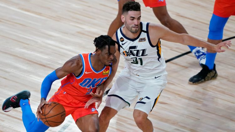 Jazz de l'Utah s'incline face à Oklahoma City (94-110). Georges Niang inscrit 7 points - NBA